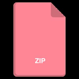 zipファイルの画像